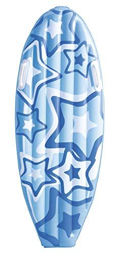Bestway aufblasbares Surfboard Stars and Flowers, 114 x 46 cm, sortiert - 8