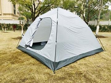 Climecare Kuppelzelt 2-3-4 Personen, Zelte 3 Jahreszeiten Kuppelzelt Outdoor Campingzelt Iglu-Zelt,doppelschichtig Wasserdichtes, 210x210x135cm - 3