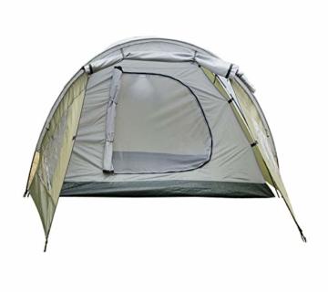 Climecare Kuppelzelt 2-3-4 Personen, Zelte 3 Jahreszeiten Kuppelzelt Outdoor Campingzelt Iglu-Zelt,doppelschichtig Wasserdichtes, 210x210x135cm - 4