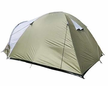 Climecare Kuppelzelt 2-3-4 Personen, Zelte 3 Jahreszeiten Kuppelzelt Outdoor Campingzelt Iglu-Zelt,doppelschichtig Wasserdichtes, 210x210x135cm - 8