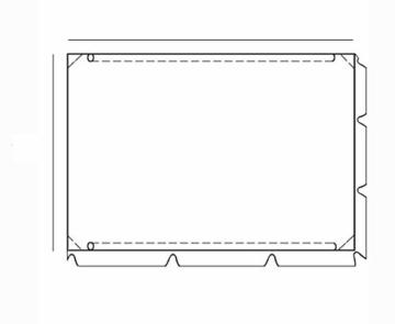 Ferocity Hollywoodschaukel Ersatzdach Nach Maß Jede Größe auf Bestellung Dach Gartenschaukel Universal Individuel Grün [101] - 3