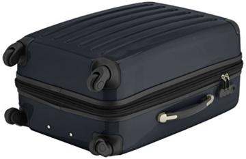 HAUPTSTADTKOFFER - Alex - 2er Koffer-Set Hartschale glänzend, 65 cm + 55 cm, 74 Liter + 42 Liter, Schwarz - 5