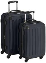 HAUPTSTADTKOFFER - Alex - 2er Koffer-Set Hartschale glänzend, 65 cm + 55 cm, 74 Liter + 42 Liter, Schwarz - 1