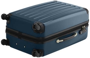 HAUPTSTADTKOFFER - Alex - 2er Koffer-Set Hartschale glänzend, TSA, 65 cm, 74 Liter, Waldgrün-Silber - 3