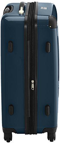 HAUPTSTADTKOFFER - Alex - 2er Koffer-Set Hartschale glänzend, TSA, 65 cm, 74 Liter, Waldgrün-Silber - 4