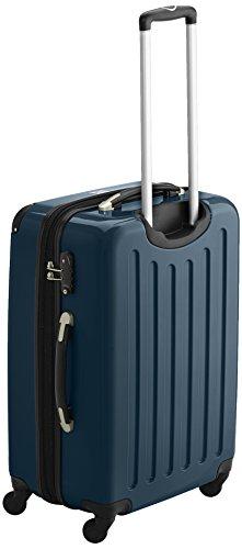 HAUPTSTADTKOFFER - Alex - 2er Koffer-Set Hartschale glänzend, TSA, 65 cm, 74 Liter, Waldgrün-Silber - 5