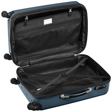HAUPTSTADTKOFFER - Alex - 2er Koffer-Set Hartschale glänzend, TSA, 65 cm, 74 Liter, Waldgrün-Silber - 6