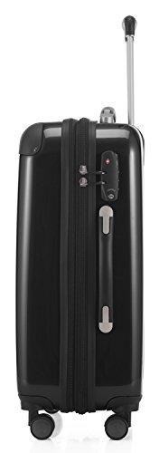 HAUPTSTADTKOFFER - Alex - 2er Kofferset Hartschale glänzend, mittelgrosser Koffer 65 cm + Handgepäck 55 cm, 74 + 42 Liter, TSA - 4