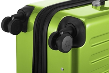 HAUPTSTADTKOFFER - Alex - 2er Kofferset Hartschale glänzend, mittelgrosser Koffer 65 cm + Handgepäck 55 cm, 74 + 42 Liter, TSA - 6