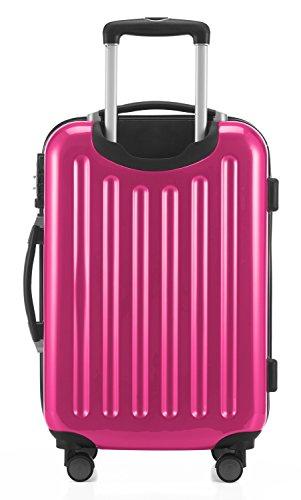 HAUPTSTADTKOFFER - Alex - 2er Kofferset Hartschale glänzend, mittelgrosser Koffer 65 cm + Handgepäck 55 cm, 74 + 42 Liter, TSA - 5