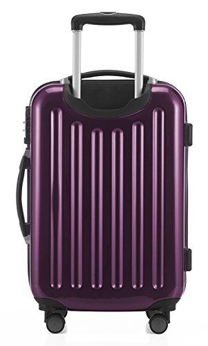HAUPTSTADTKOFFER - Alex - 2er Kofferset Hartschale glänzend, mittelgrosser Koffer 65 cm + Handgepäck 55 cm, 74 + 42 Liter, TSA - 3