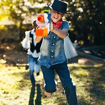 infinitoo Wasserpistole Spritzpistolen 1L, Water Gun Spielzeug für Kinder Water Blaster Badespielzeug Strandspielzeug Erwachsener(Wasser oder Eiswürfel hinzufügen) - 4
