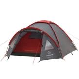 JUSTCAMP Kuppelzelt Scott 3, Campingzelt mit Vorraum, Iglu-Zelt für 3 Personen (doppelwandig) - grau - 1