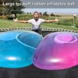 Liamostee Aufblasbarer Ball Wassergefüllter Strand-Softgummiball für Kinder im Freien - 1