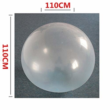 Liamostee Aufblasbarer Ball Wassergefüllter Strand-Softgummiball für Kinder im Freien - 3