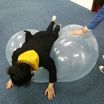 Liamostee Aufblasbarer Ball Wassergefüllter Strand-Softgummiball für Kinder im Freien - 7