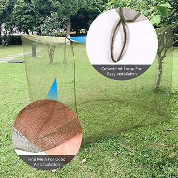 Lixada Camping Moskitonetz 200x90x180cm Campingzelt Outdoor Net für Camping Wanderrucksack - 3