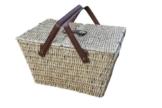 Picknickkorb, honigbraun - 1