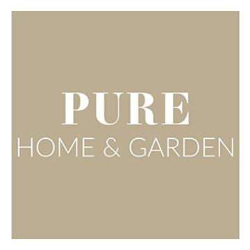 Pure Home & Garden 3-Sitzer XXL Hollywoodschaukel Swing, wetterfeste Outdoor Polsterung - 8