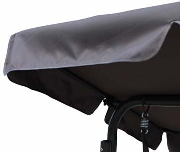 Pure Home & Garden 3-Sitzer XXL Hollywoodschaukel Swing, wetterfeste Outdoor Polsterung - 9