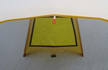 Ribelli Tunnelzelt für 4 Personen Großes Familienzelt mit 2 Eingängen und 3.000 mm Wassersäule Gruppenzelt grau Campingzelt - 6
