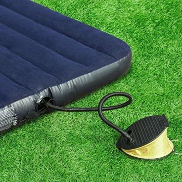 SoBuy OGS32-L-GR Feldbett 4in1-Zelt mit Campingliege Schlafsack Luftmatratze und Zubehör Campingzelt 2 Personen - 9