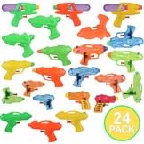 Toyvian Squirt Guns Party Pack,Verschiedene Wasserpistolen Kinder Sommer Schwimmbad Strand Toy Water Squirt Wasser Kampfspielzeug (24 Pack) - 1