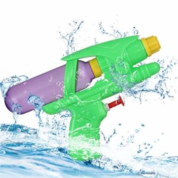 Toyvian Squirt Guns Party Pack,Verschiedene Wasserpistolen Kinder Sommer Schwimmbad Strand Toy Water Squirt Wasser Kampfspielzeug (24 Pack) - 7