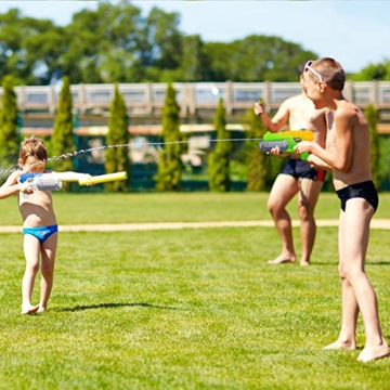 Toyvian Super Soaker Wasserpistolen, Water Soaker Blaster 160CC mit hoher Kapazität und Over 35 Fuß Schießstand, Wasserspiele im Freien Spritzspielzeug für Kinder Erwachsene - 2