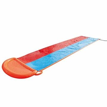 Zihui 5,5 M Wasserrutsche Mit Doppelschieber Aufblasbare Wasserrutsche Mit Dicker Rutsche Und Rutsche Sommerwasserrutschen Für Den Garten Spritzer-Sprint-Wasserrutsche - 8