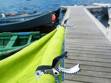 4 Stk Tuuli Summer Clips Mehrzweck Klammer Strand Handtuch Camping Garten Kite Surf Liege Bad Wäsche Kinderwagen Zubehör (Schwarz Weiss) - 8