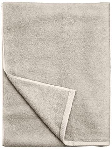 AmazonBasics - Handtuch-Set, schnelltrocknend, 2 Handtücher - Platingrau, 100% Baumwolle - 2