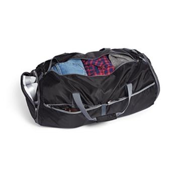 AmazonBasics - Reisetasche, leicht verstaubar, 69 cm, 75 Liter - 7