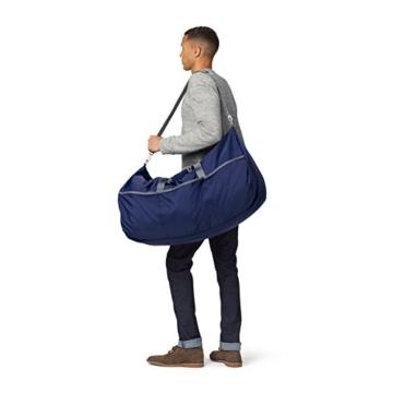 AmazonBasics - Seesack / Reisetasche, groß, 98 l, Marineblau - 2