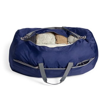 AmazonBasics - Seesack / Reisetasche, groß, 98 l, Marineblau - 6