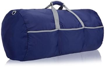 AmazonBasics - Seesack / Reisetasche, groß, 98 l, Marineblau - 7