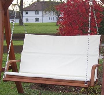 ASS Design Bank aus Holz Lärche für Hollywoodschaukel 2-Sitzer KUREDO (ohne Gestell!!!) von - 2