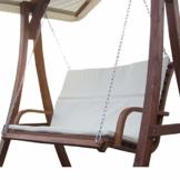 ASS Design Bank aus Holz Lärche für Hollywoodschaukel 2-Sitzer KUREDO (ohne Gestell!!!) von - 1