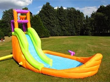BeBop Piratenboot Aufblasbare Bouncy Wasserrutsche für Kinder - 2