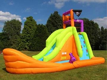 BeBop Piratenboot Aufblasbare Bouncy Wasserrutsche für Kinder - 3