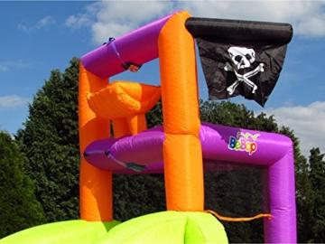 BeBop Piratenboot Aufblasbare Bouncy Wasserrutsche für Kinder - 4