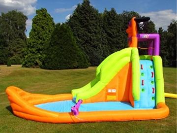 BeBop Piratenboot Aufblasbare Bouncy Wasserrutsche für Kinder - 5