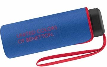 Benetton Taschenschirm Ultra Mini Flat Solid - Blue - 1