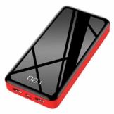 Bextoo powerbank 30000mah Große Kapazität Externe Akkus LCD Display Batterie Pack 2 Eingängen 2 Ausgängen Tragbares Ladegerät Handy akkupack USB C Power Bank für iPhone, Samsung Huawei, iPad - 1