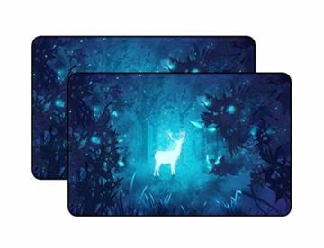 BLANCHO BEDDING EIN Paar Sommer Auto Gardinen Sonnenschutz Magnetic Type Doppelsonnenschirme, Elk - 1