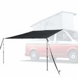 Blaustein Auto Vorzelt I Sonnensegel für Wohnwagen, Wohnmobil oder Bus I 4 Montage-Möglichkeiten & 3 Aufbau-Varianten I wasserdicht und stabil - 1
