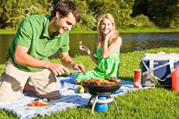 Campingaz Party Grill Campinggrill, kleiner Gasgrill und Campingkocher in einem, für Camping, Wandern oder Festivals - 8