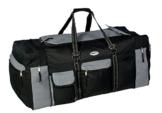 Campito Reisetasche, 80cm lang, 130 Liter, schwarz-grau - 1