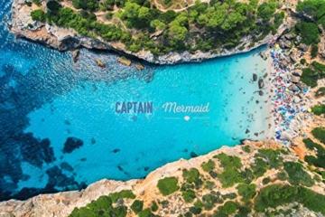 Captain&Mermaid® Premium Strandtuch aus 100% Baumwolle Oeko-TEX® | Badetuch | Handtuch | Yoga | Peshtemal | Sauna Tuch | Hamam Tuch | leicht, dünn & extra saugstark (Rosa) - 9
