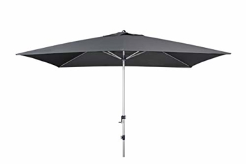 Doppler EXPERT Auto Tilt – Rechteckiger Sonnenschirm für Balkon oder Terrasse – Knickbar – ca. 300x200 cm – Anthrazit - 3